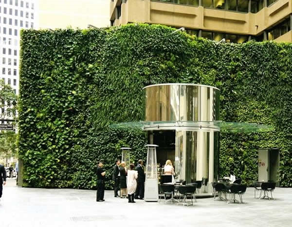 Benefits of green roofs walls and facades citygreen for Green wall advantages