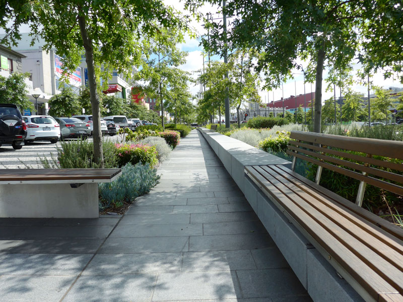 Lonsdale Street transformed into Melbourne green boulevard