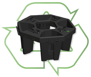 Why the StrataCell is made of Recycled Plastic