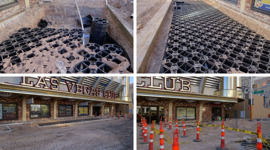 Stratacell installations at main st las vegas