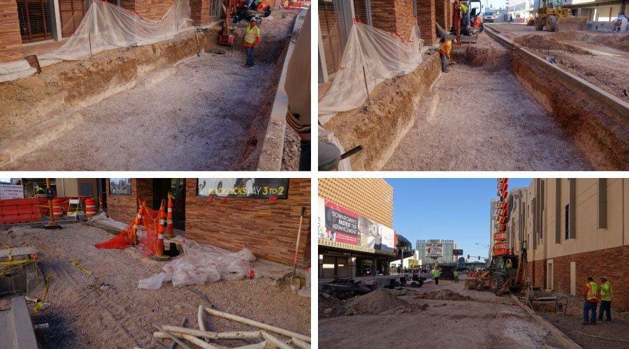 Stratacell installations at main street las vegas