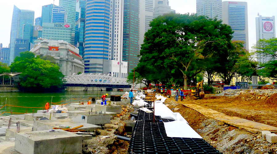 stratavault installation in empress place singapore
