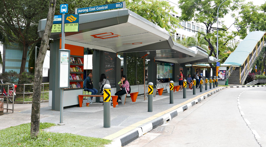 Jurong Smart Bus Station Singapore Citygreen