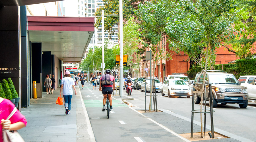 Kent St Cycle Way project