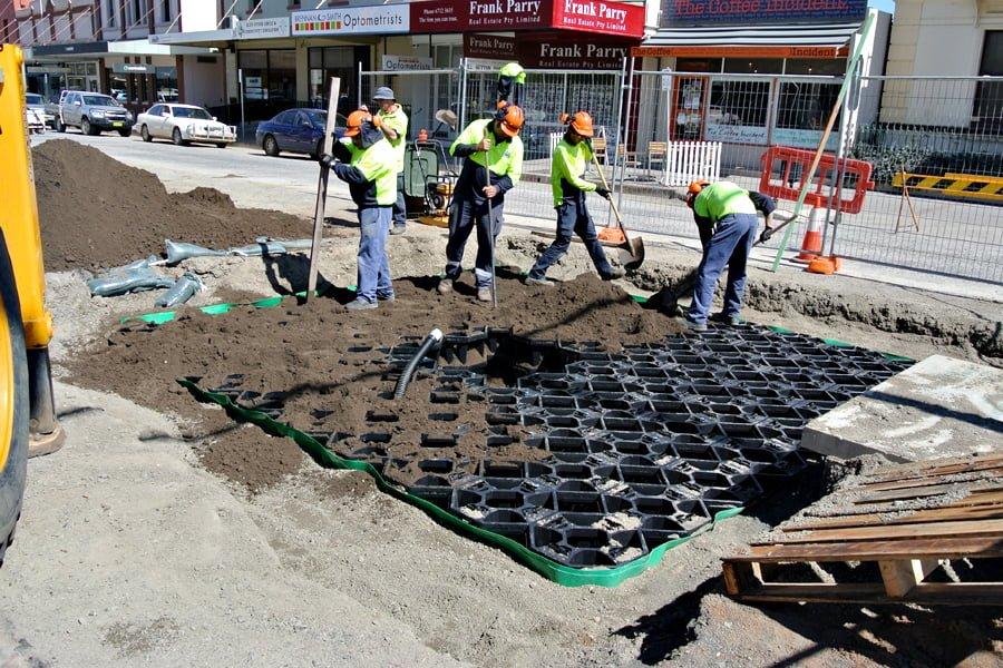grey street stratacell installation 2
